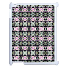 Colorful Pixelation Repeat Pattern Apple Ipad 2 Case (white) by Nexatart