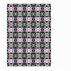 Colorful Pixelation Repeat Pattern Large Garden Flag (two Sides) by Nexatart