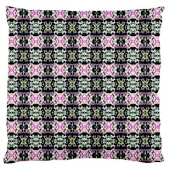 Colorful Pixelation Repeat Pattern Large Cushion Case (two Sides) by Nexatart