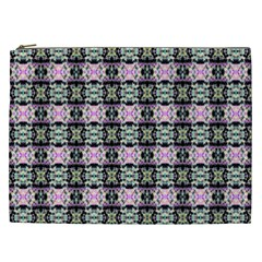 Colorful Pixelation Repeat Pattern Cosmetic Bag (xxl)  by Nexatart