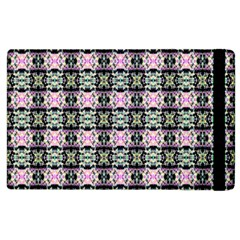 Colorful Pixelation Repeat Pattern Apple Ipad 3/4 Flip Case by Nexatart