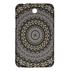 Celestial Pinwheel Of Pattern Texture And Abstract Shapes N Brown Samsung Galaxy Tab 3 (7 ) P3200 Hardshell Case  by Nexatart