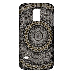 Celestial Pinwheel Of Pattern Texture And Abstract Shapes N Brown Galaxy S5 Mini by Nexatart