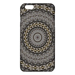 Celestial Pinwheel Of Pattern Texture And Abstract Shapes N Brown Iphone 6 Plus/6s Plus Tpu Case