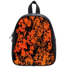 Abstract Orange Background School Bags (small)  by Nexatart