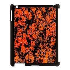 Abstract Orange Background Apple Ipad 3/4 Case (black) by Nexatart