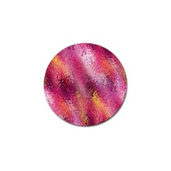 Red Seamless Abstract Background Golf Ball Marker by Nexatart