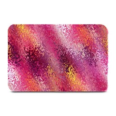 Red Seamless Abstract Background Plate Mats by Nexatart