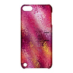 Red Seamless Abstract Background Apple Ipod Touch 5 Hardshell Case With Stand by Nexatart