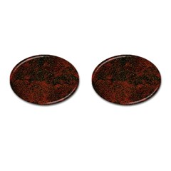 Olive Seamless Abstract Background Cufflinks (oval) by Nexatart