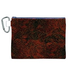 Olive Seamless Abstract Background Canvas Cosmetic Bag (xl)