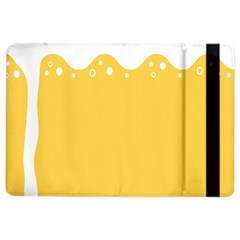 Beer Foam Yellow White Ipad Air 2 Flip by Mariart