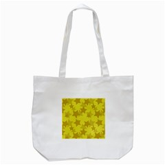Yellow Star Tote Bag (white) by Mariart