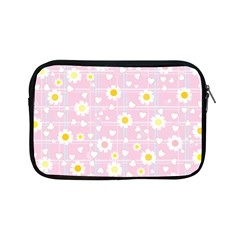 Flower Floral Sunflower Pink Yellow Apple Ipad Mini Zipper Cases by Mariart
