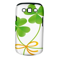 Flower Floralleaf Green Reboon Samsung Galaxy S Iii Classic Hardshell Case (pc+silicone) by Mariart