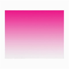 Gradients Pink White Small Glasses Cloth by Mariart