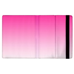 Gradients Pink White Apple Ipad 2 Flip Case by Mariart
