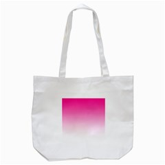 Gradients Pink White Tote Bag (white) by Mariart