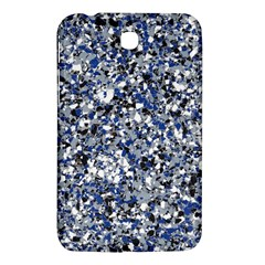 Electric Blue Blend Stone Glass Samsung Galaxy Tab 3 (7 ) P3200 Hardshell Case  by Mariart