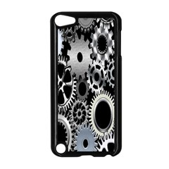 Gears Technology Steel Mechanical Chain Iron Apple Ipod Touch 5 Case (black) by Mariart