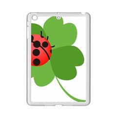 Insect Flower Floral Animals Green Red iPad Mini 2 Enamel Coated Cases by Mariart