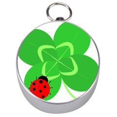 Insect Flower Floral Animals Green Red Line Silver Compasses by Mariart