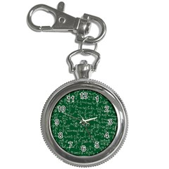 Formula Number Green Board Key Chain Watches by Mariart