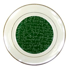Formula Number Green Board Porcelain Plates by Mariart