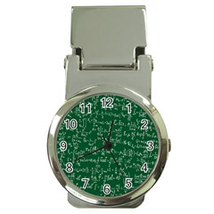 Formula Number Green Board Money Clip Watches by Mariart