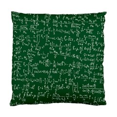 Formula Number Green Board Standard Cushion Case (one Side) by Mariart