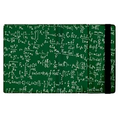 Formula Number Green Board Apple Ipad 3/4 Flip Case by Mariart