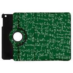 Formula Number Green Board Apple Ipad Mini Flip 360 Case by Mariart