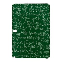 Formula Number Green Board Samsung Galaxy Tab Pro 12 2 Hardshell Case by Mariart