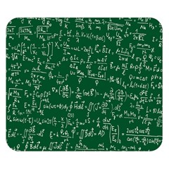 Formula Number Green Board Double Sided Flano Blanket (small)  by Mariart