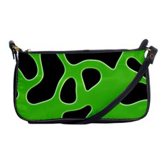 Abstract Shapes A Completely Seamless Tile Able Background Shoulder Clutch Bags by Nexatart