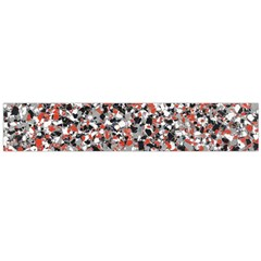 Hurley Mix Electric Electric Red Blend Flano Scarf (large) by Mariart