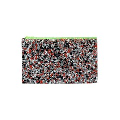 Hurley Mix Electric Electric Red Blend Cosmetic Bag (xs) by Mariart