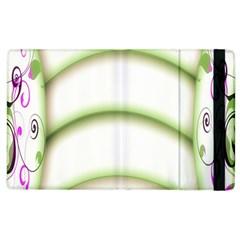 Abstract Background Apple Ipad 2 Flip Case by Nexatart