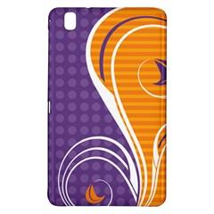 Leaf Polka Dot Purple Orange Samsung Galaxy Tab Pro 8 4 Hardshell Case by Mariart