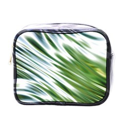 Fluorescent Flames Background Light Effect Abstract Mini Toiletries Bags by Nexatart