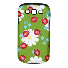 Insect Flower Floral Animals Star Green Red Sunflower Samsung Galaxy S Iii Classic Hardshell Case (pc+silicone) by Mariart