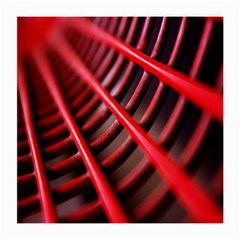 Abstract Of A Red Metal Chair Medium Glasses Cloth by Nexatart