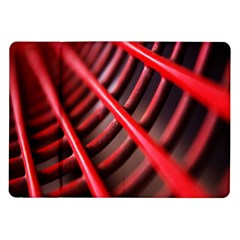 Abstract Of A Red Metal Chair Samsung Galaxy Tab 10 1  P7500 Flip Case by Nexatart