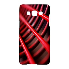 Abstract Of A Red Metal Chair Samsung Galaxy A5 Hardshell Case  by Nexatart
