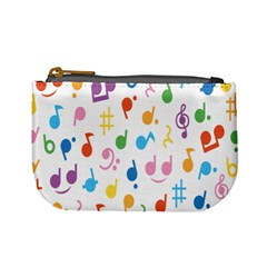 Musical Notes Mini Coin Purses by Mariart