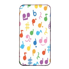Musical Notes Apple Iphone 4/4s Seamless Case (black) by Mariart