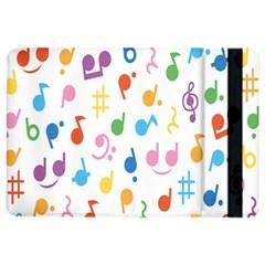 Musical Notes Ipad Air 2 Flip by Mariart