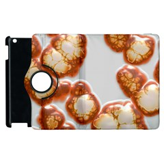 Abstract Texture A Completely Seamless Tile Able Background Design Apple Ipad 2 Flip 360 Case by Nexatart