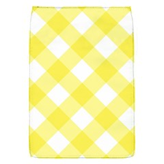 Plaid Chevron Yellow White Wave Flap Covers (s)  by Mariart