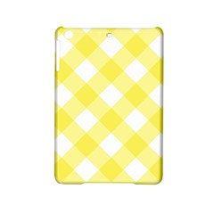 Plaid Chevron Yellow White Wave Ipad Mini 2 Hardshell Cases by Mariart